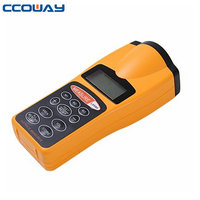 New CP-3007 LCD Ultrasonic Laser Meter Pointer + Distance Measurer Range 60FT 18M