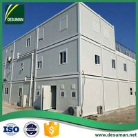 DESUMAN china wholesale CE customized 40ft flat packed container office