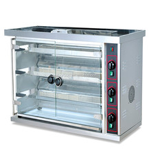 High quality commercial top gas chicken rotisseries with 3 rows JGT-3P