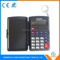 Best Selling Products 8 Digits Electronic Flip Cover Mini Pocket Calculators