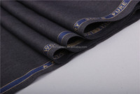 TR Suiting fabric English selvage polyester rayon ready fabric on hot sale