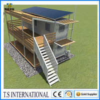 Modified container house price /container coffee shop/ prefabricated finland log cabin wooden house