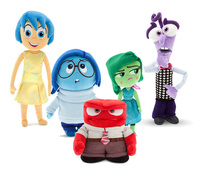 Pixar 2015 Cartoon Animation Inside Out plush toy Anger Joy Fear Disgust And Sadness toy Christmas Gift brand stuffed doll cute