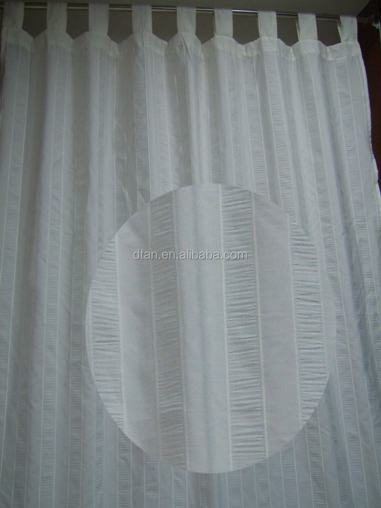 2013 Top quality special designer polyester stripe curtain designs