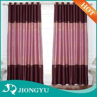 2016 New arrival Top quality Luxury Ready made window curtains set italian