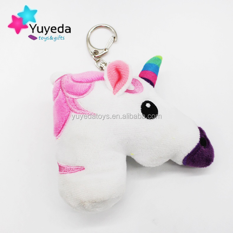 YYDtoys unicorn keychain plush key chain