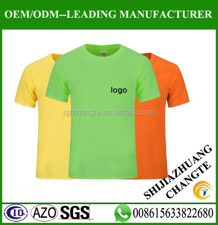 Hot sell oem tee shirts cheap price custom t shirt printing with high quality