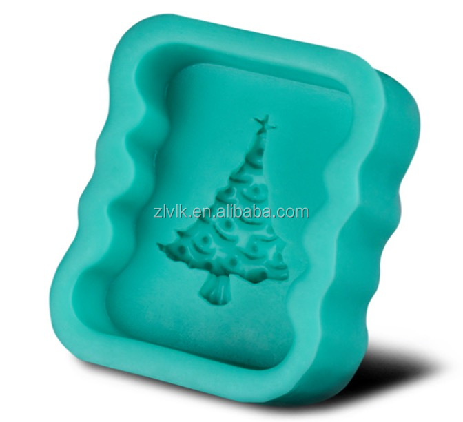 Hot Sale Cheap Christmas Tree Shaped Silicone Cake Mold