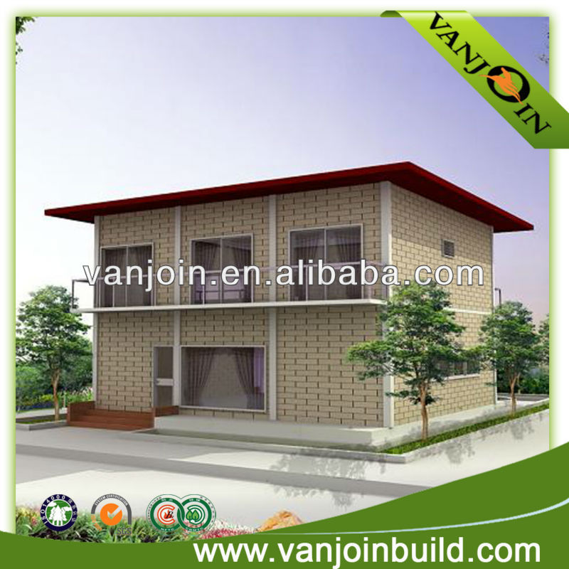fast construction prefab concrete sandwich panel house
