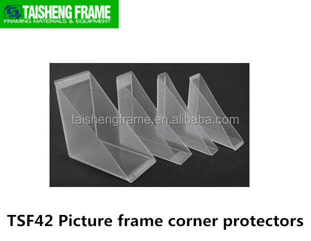 TSF42 picture frame moulings plastic corner protector 58mm will not be broken make good photo frame factory selling customize