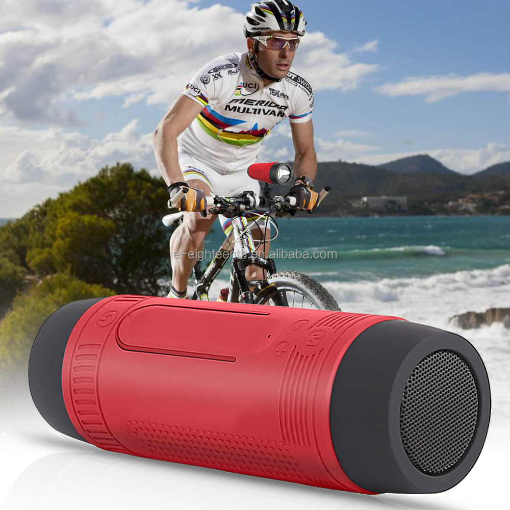 Wireless Waterproof Outdoor BT speaker 4000mah rechargeable battery FM radio TF card super bass Zealot Bicycle Wireless Speaker