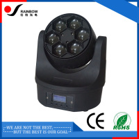 Effect red green and blue robot cstage moving head light
