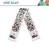 2016 UAE National Day Classic style printing polyester fleece scarf