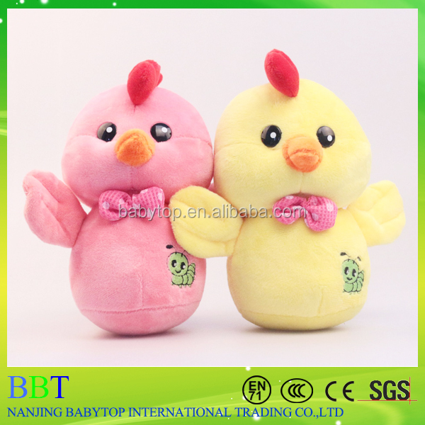 20cm Promotional gift low price stuffed Russia chicken toy