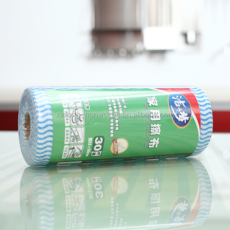 Chinese Manufacturer spunlace lint-free dry wiper clean room washing towel for household