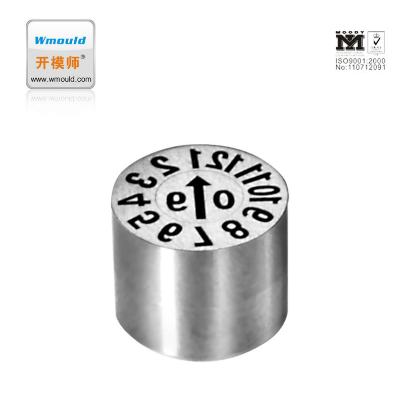 date stamps insert DDT JIS moulding indicator