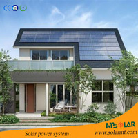Off Grid Solar Power System For Home 500w-100kw Off-grid & Grid-tie solar power electric system projects