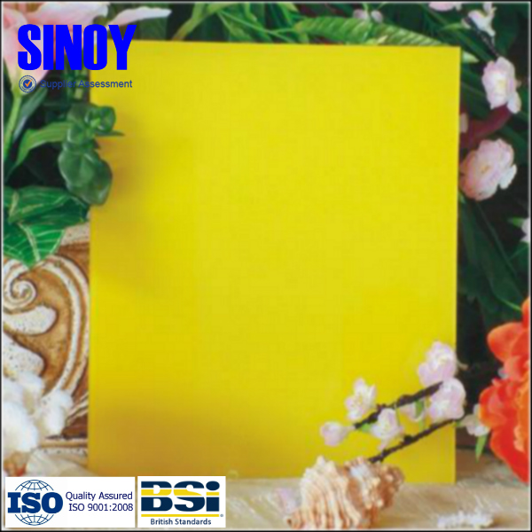 SINOY China hot selling high quality back painted glass, decorative glass sheet