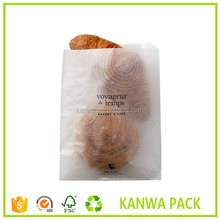 Reach food grade sealed croissant bakery packing brown paper bag wholesale