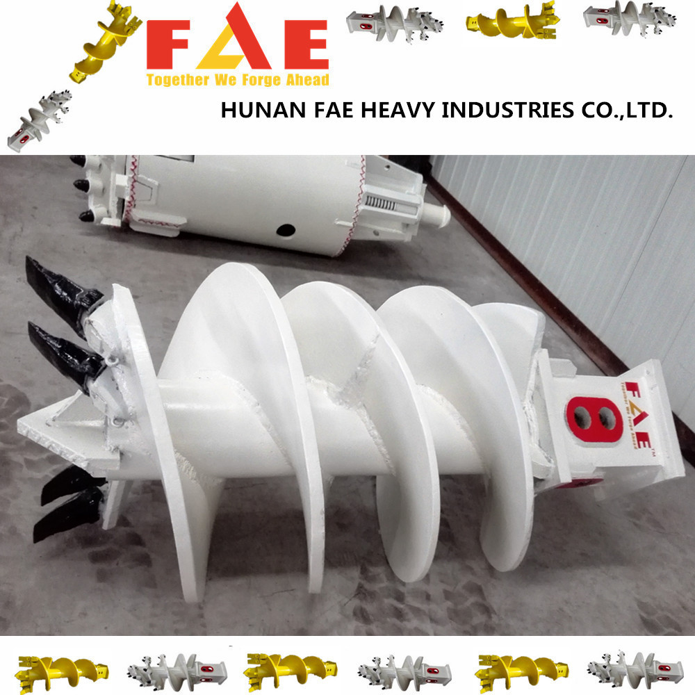 Construction piling machinery spare part Earth drilling auger