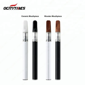 Ocitytimes Top selling Disposable Cbd oil .5ml vaporizer cartridge empty Dispoasble cbd vape pen