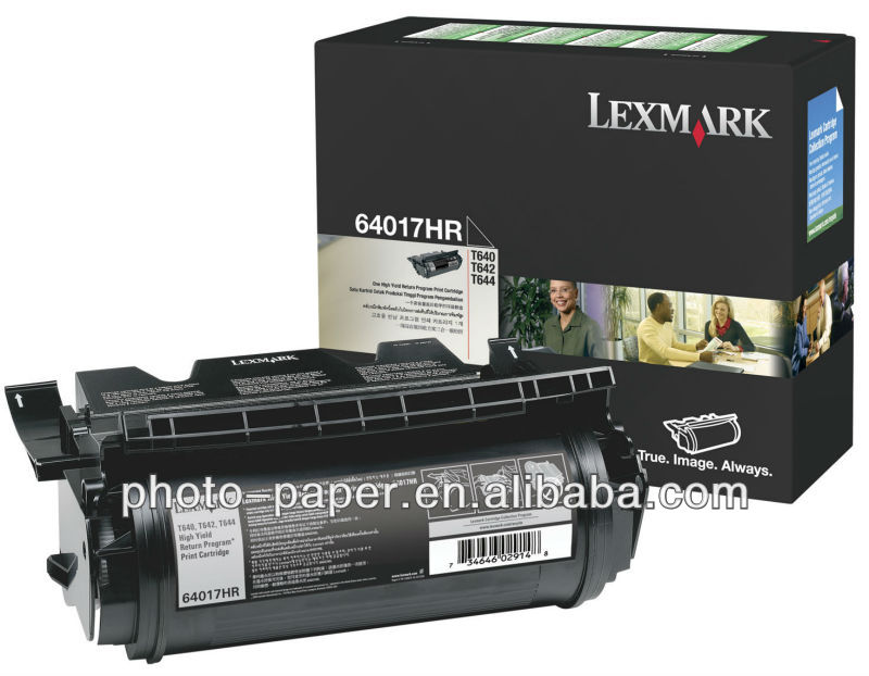 Genuine for lexmark t644 toner cartridge