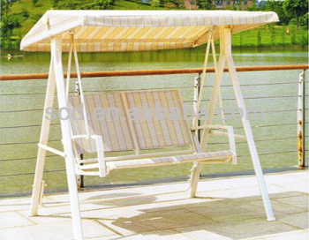 Two Seat Garden Swing Bench
