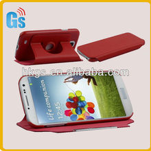 NEW PU Leather Stand 360 Degree Rotating Leather Case for Samsung Galaxy S4 IV I9500