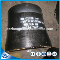 "nps 4"""" sch10 asme sa234 wpb wp12 wp11 wp22 butt-welding reducer for pipe"