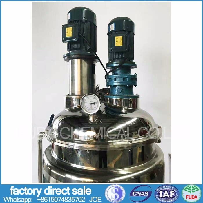 small scale liquid mixer with good quality liquid detergent emulsifying tank
