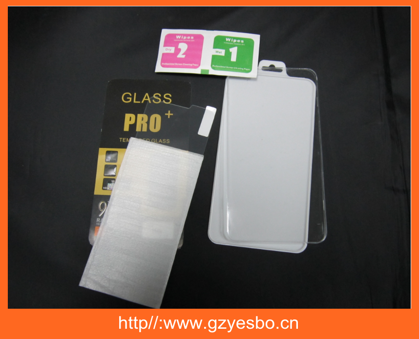 2015 Factory OEM packing 9H tempered glass screen protector for iphone for samsung mobile phone