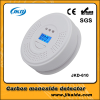 home and security carbon monoxide detector with human voice