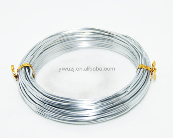 2018 fashion colored aluminium wire for jewelry maker and craft making