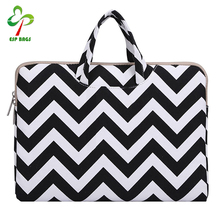 Fashion wave portable ladies laptop bags, women laptop bag for 11 11.6 inch notebook netbook ultrabook