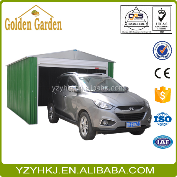 Large Size Apex roof Steel Motorcycle Shed Type G2H1108