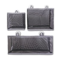container homes cosmetic storage/ hanging collapse Basket Bathroom /PVC Mesh Bathroom Storage Bag