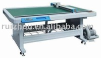 Automatic garment and footwear paper model cutter/plotter
