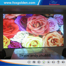 DIP p6 outdoor full color china xxx stage background led video wall display