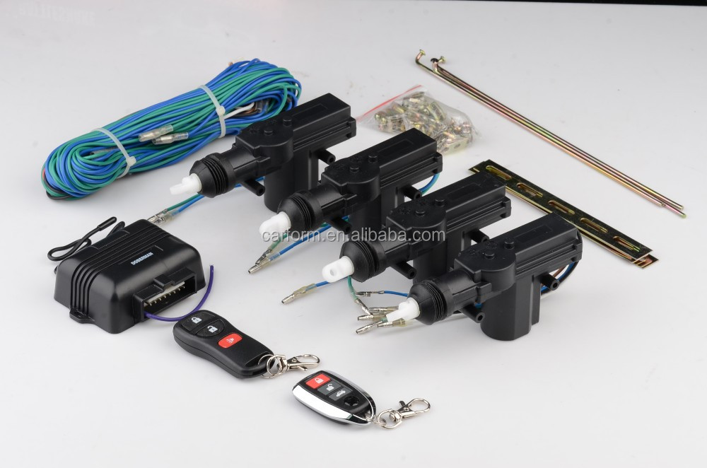 Car Remote Central Locking System Remote Control 4 Doors Car Remote Control Conversion Power Lock With Keyless Entry System