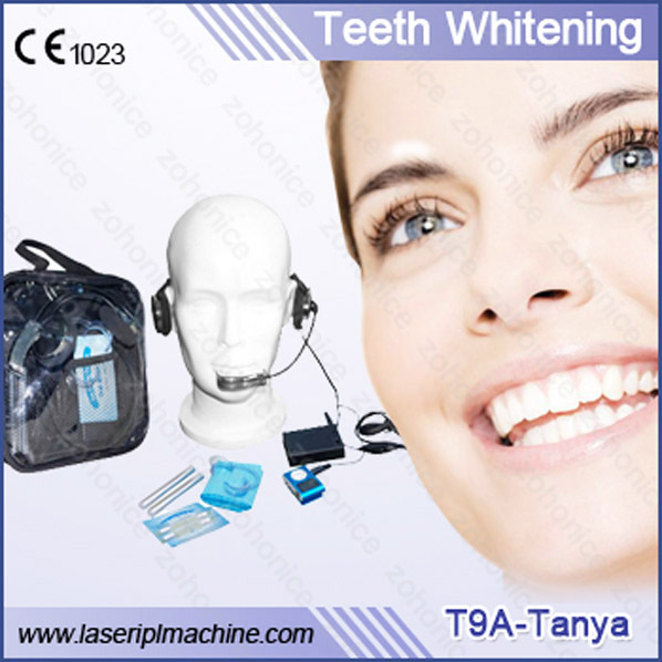 T9A breath freshening and charming tooth whitening plus strips