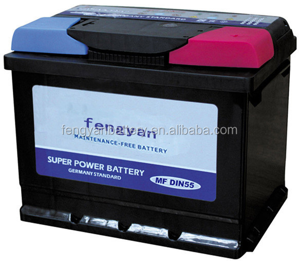 Maintenance Free Car Battery MF DIN55 12V Largestar
