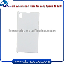 3d sublimation printing case for Sony Xperia Z1 L39h