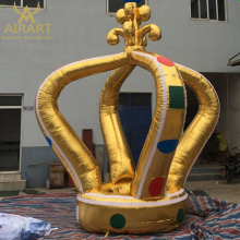 Outdoor decoration party decoration giant inflatable crown