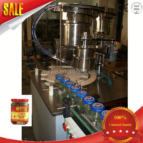 small canning sauce filling machine