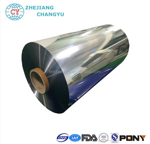 Metallized PET Film Polyester Film for laminating for printing for food packaging