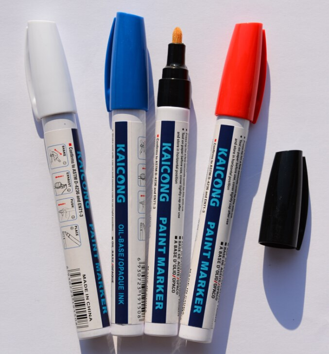 KAICONG Oil-based Paint marker,permanent paint marker,iPOSCA Valve Action chalk pen,window marker
