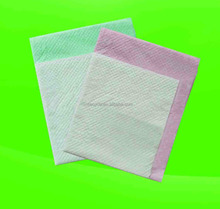 Personal care disposable pads/incontinence bed pads/medical disposable product with high absorption