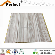construction materials Plastic PVC Indoor Covering Decorative Siding PVC Exterior Sectional Wall Panels