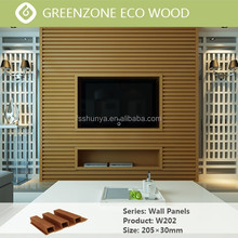 wood plastic composite external wall cladding