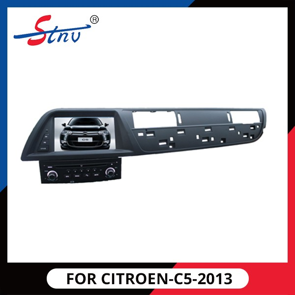 Android quad- core gps navigator with car dvd player for CITROEN-C5-2013